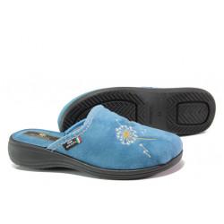 Анатомични български чехли Spesita 356 син | Дамски домашни чехли