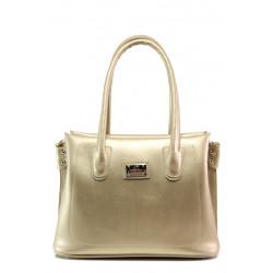 Българска дамска чанта СБ 1250 злато | Дамска чанта