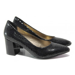 Елегантни дамски обувки ФА 873 черен | Дамски обувки на висок ток