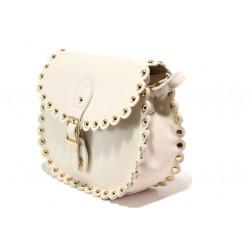 Модерна спортна чанта ФР 18863 бежов | Дамска чанта