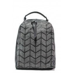 Спортна чанта-раница ФР 2062 черен | Дамска чанта