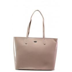 Лачена дамска чанта ФР 3856 розов | Дамска чанта