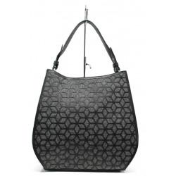 Модерна ежедневна чанта ФР 2052 черен   Дамска чанта