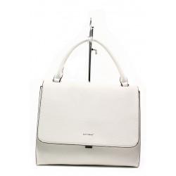 Дамска чанта с модерна визия ФР 9085 бял   Дамска чанта