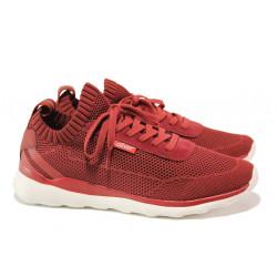 Мъжки летни маратонки S.Oliver 5-13642-22 червен | Мъжки немски обувки