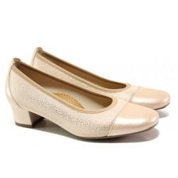 Дамски ортопедични обувки SOFTMODE 7097 розов | Дамски обувки на среден ток