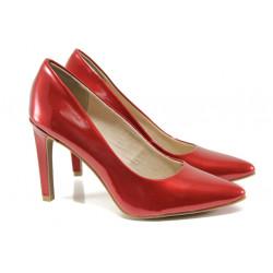 Елегантни лачени обувки Marco Tozzi 2-22415-32 чили лак | Немски обувки на ток