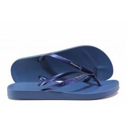 Анатомични дамски чехли Ipanema 81030 т.син | Бразилски чехли
