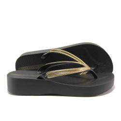 Анатомични дамски чехли Ipanema 82527 черен | Бразилски чехли