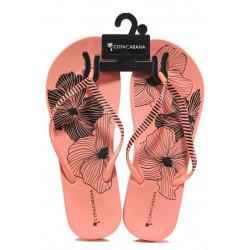 Анатомични дамски чехли Ipanema 82632 розов | Бразилски чехли