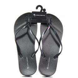 Анатомични дамски чехли Ipanema 82698 черен металик | Бразилски чехли