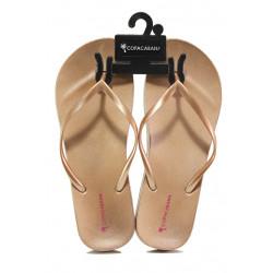 Анатомични дамски чехли Ipanema 82698 бежов-розов | Бразилски чехли