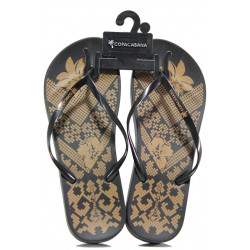 Анатомични дамски чехли Ipanema 82633 черен | Бразилски чехли