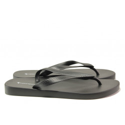 Мъжки чехли между пръстите Ipanema 82560 черен | Бразилски чехли