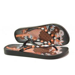 Анатомични дамски чехли Ipanema 82280 черен | Бразилски чехли и сандали