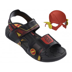 Анатомични детски сандали с лепенки Rider 21855 Флаш черен 28/36 | Бразилски чехли и сандали