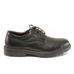 Мъжки ортопедични обувки от естествена кожа SOFTMODE 3003 Manchester кафе   Мъжки ежедневни обувки
