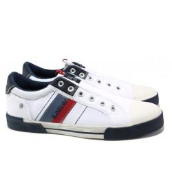 Мъжки спортни обувки с FLEX система S.Oliver 5-14603-22 бял | Мъжки немски обувки