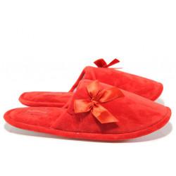 Анатомични дамски домашни чехли Runners 172-162 червен | Домашни чехли