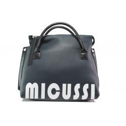 Ежедневна дамска чанта с модерна визия ФР 6520 син   Дамска чанта