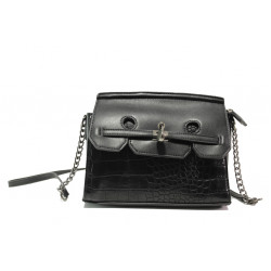 Модерна спортна чанта ФР 8026 черен | Дамска чанта