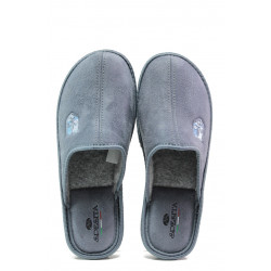 Анатомични български чехли Spesita 640 сив | Мъжки домашни чехли