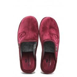 Анатомични български домашни чехли Spesita 671 бордо | Дамски домашни чехли