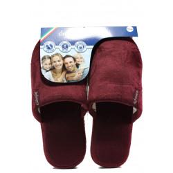 Анатомични мъжки чехли Defonseca ROMA TOP P M15 бордо | Домашни чехли