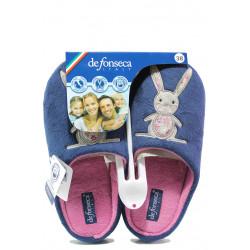 Анатомични дамски чехли Defonseca TORINO W200 син | Домашни чехли