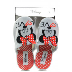 Анатомични дамски чехли Defonseca ROMA I W580 сив Disney | Домашни чехли
