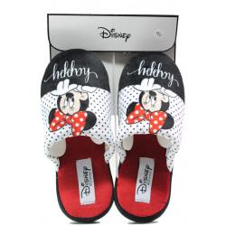 Анатомични дамски чехли Defonseca ROMA I W580 бял-червен Disney   Домашни чехли