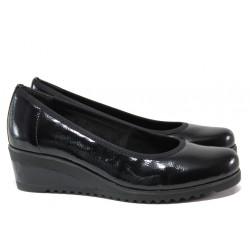 Анатомични дамски обувки на платформа Remonte D5500-03 черен | Немски обувки на платформа