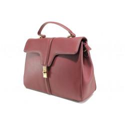 Елегантна чанта с модерна визия ФР 2720 бордо | Дамска чанта