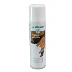 Освежаващ цвета спрей за обувки от велур и набук Salamander 8281 009 черен | Козметика за обувки