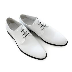 Елегантни мъжки обувки от естествена кожа МН Tony 260401 бял | Мъжки официални обувки