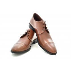Елегантни мъжки обувки от естествена кожа МН Eduardo 270201 кафяв | Мъжки официални обувки