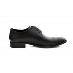 Елегантни мъжки обувки от естествена кожа МН Eduardo 270101 черен | Мъжки официални обувки