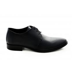 Елегантни мъжки обувки от естествена кожа МН Tony 260101 черен   Мъжки официални обувки