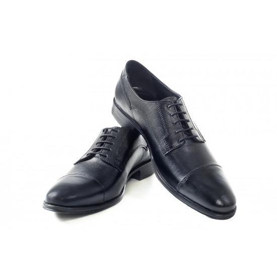 Елегантни мъжки обувки от естествена кожа МН Dylan 120101 черен   Мъжки официални обувки