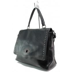 Модерна дамска чанта ФР 6026 черен | Дамска чанта