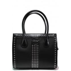 Стилна дамска чанта ФР 61312 черен | Дамска чанта