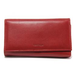 Дамско портмоне от естествена кожа ФР 306-155 червен | Дамско портмоне