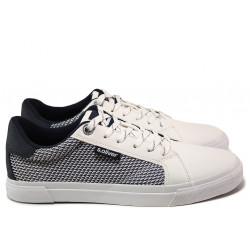 Мъжки спортни обувки S.Oliver 5-13641-24 бял | Мъжки немски обувки