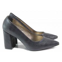 Елегантни дамски обувки ФА 43 черен | Дамски обувки на висок ток