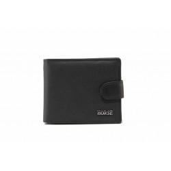 Мъжки портфейл от естествена кожа / Съни 7074 черен / MES.BG