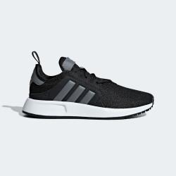 Юношески маратонки, текстил, олекотени, OrthoLite стелка / Adidas X_PLR J CG6825 черен-сив
