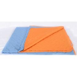 Двулицево шалте синьо и оранжево