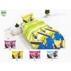 Детско спално бельо Патица Сърфист
