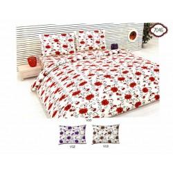 Спално бельо 100% Памук РОЗИ