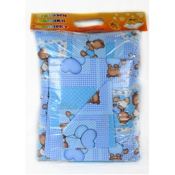 Бебешки спален комплект Ранфорс с Мече